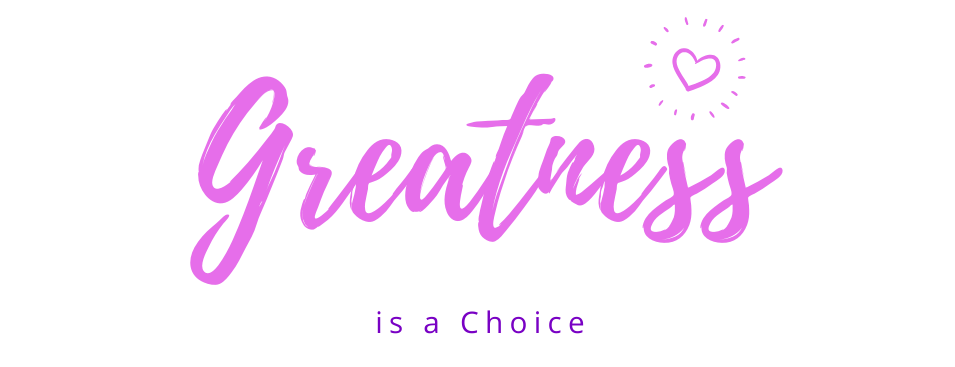 Greatness is a Choice Logo